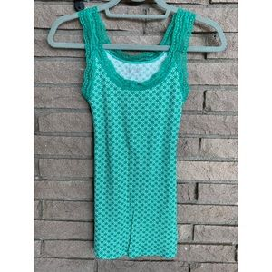 5/$20 ❤️ Old Navy Tank with Lace Accent